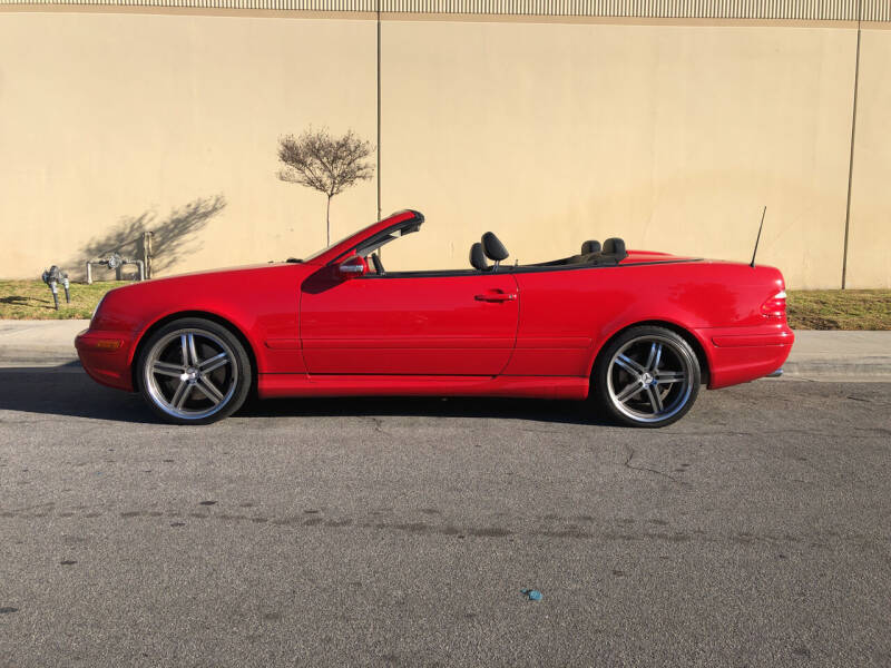 2002 Mercedes-Benz CLK for sale at HIGH-LINE MOTOR SPORTS in Brea CA