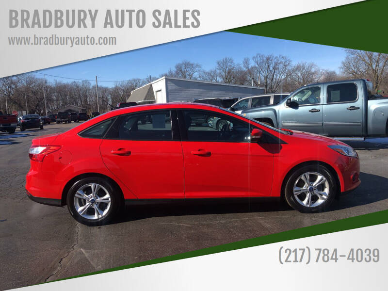 2014 Ford Focus for sale at BRADBURY AUTO SALES in Gibson City IL