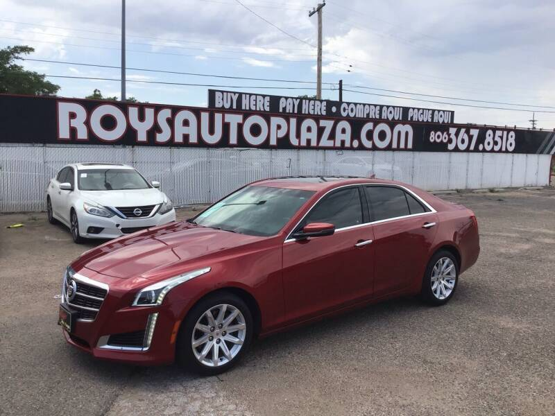 2014 Cadillac CTS for sale at Roy's Auto Plaza 2 in Amarillo TX