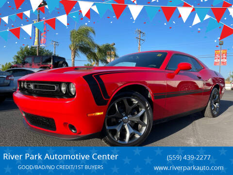 2016 Dodge Challenger for sale at River Park Automotive Center in Fresno CA