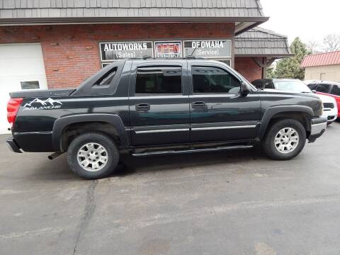 2005 Chevrolet Avalanche for sale at AUTOWORKS OF OMAHA INC in Omaha NE