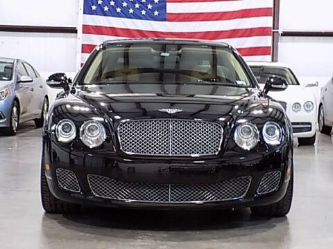 2012 Bentley Continental for sale at Texas Motor Sport in Houston TX