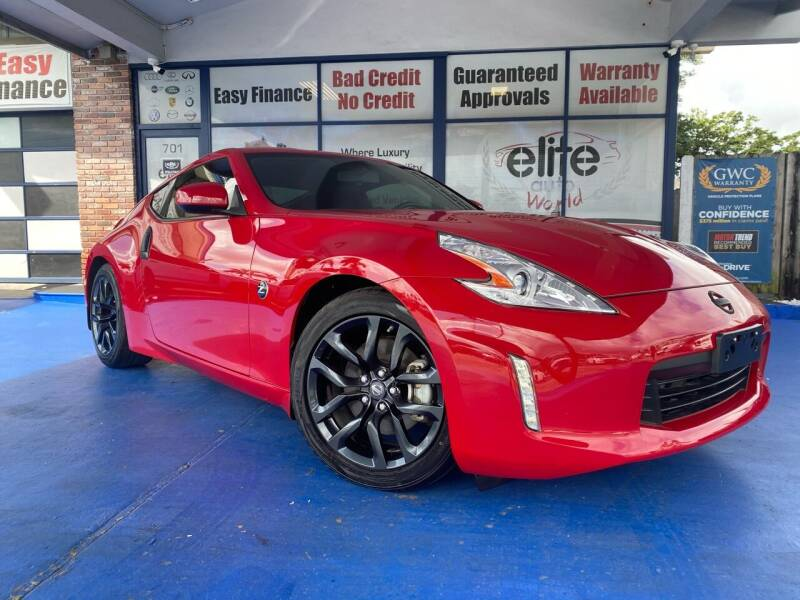 2017 Nissan 370Z for sale at ELITE AUTO WORLD in Fort Lauderdale FL