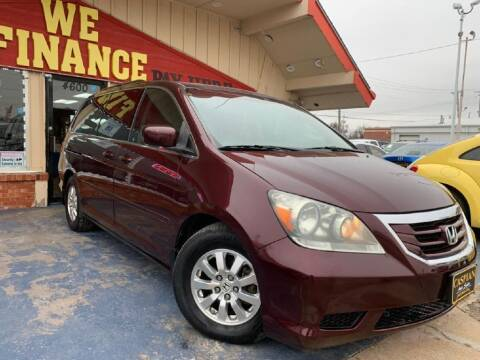 2010 Honda Odyssey for sale at Caspian Auto Sales in Oklahoma City OK