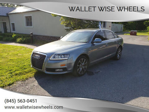 2010 Audi A6 for sale at Wallet Wise Wheels in Montgomery NY