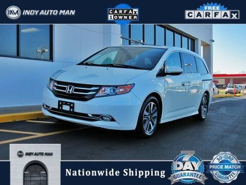 2016 Honda Odyssey for sale at INDY AUTO MAN in Indianapolis IN