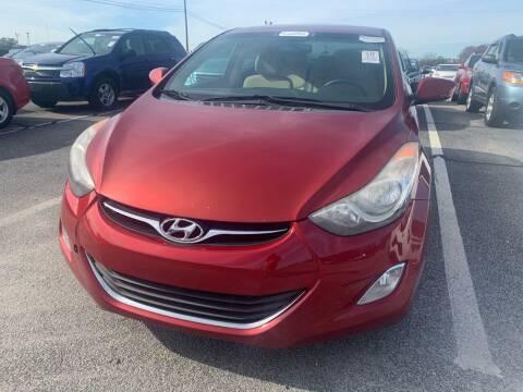 2013 Hyundai Elantra for sale at Drive Now Motors in Sumter SC