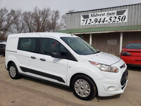 2014 Ford Transit Connect Cargo for sale at Midwest Auto of Siouxland, INC in Lawton IA