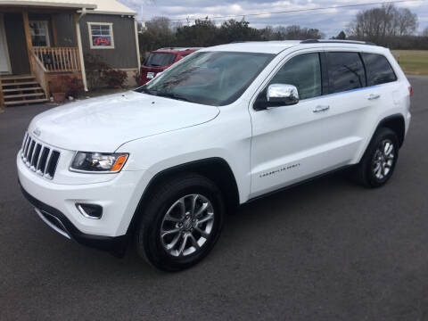 2016 Jeep Grand Cherokee for sale at G. B. ENTERPRISES LLC in Crossville AL