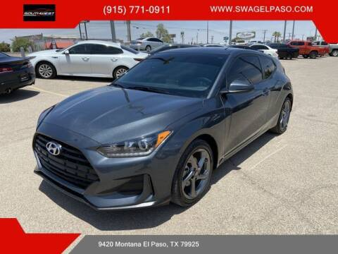 2020 Hyundai Veloster for sale at SOUTHWEST AUTO GROUP-EL PASO in El Paso TX