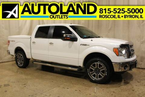 2012 Ford F-150 for sale at AutoLand Outlets Inc in Roscoe IL
