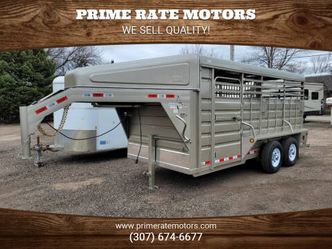 2021 GR 16' Goose-Neck Stock Combo for sale at PRIME RATE MOTORS in Sheridan WY