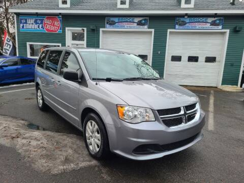 2017 Dodge Grand Caravan for sale at Bridge Auto Group Corp in Salem MA