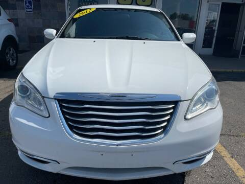 2012 Chrysler 200 for sale at Daniel Auto Sales inc in Clinton Township MI