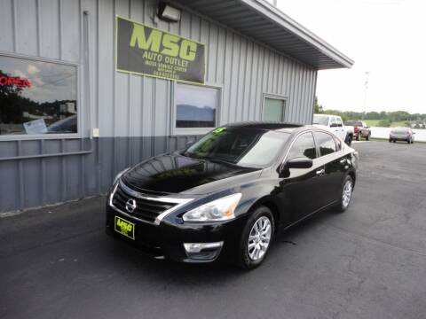 2015 Nissan Altima for sale at Moss Service Center-MSC Auto Outlet in West Union IA