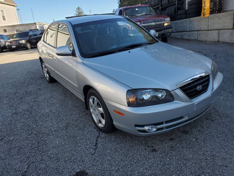 2005 Hyundai Elantra for sale at Fortier's Auto Sales & Svc in Fall River MA