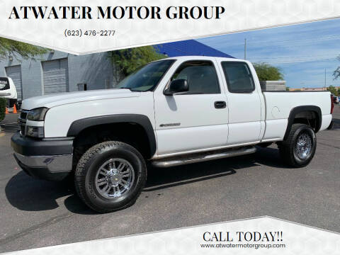 2006 Chevrolet Silverado 2500HD for sale at Atwater Motor Group in Phoenix AZ