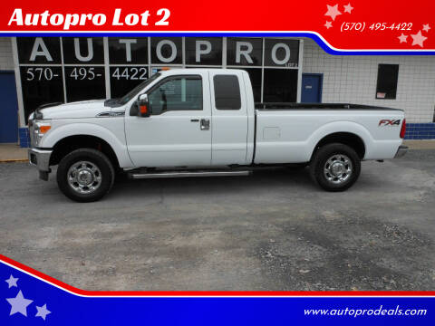 2012 Ford F-250 Super Duty for sale at Autopro Lot 2 in Sunbury PA