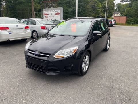 2013 Ford Focus for sale at United Auto Service in Leominster MA