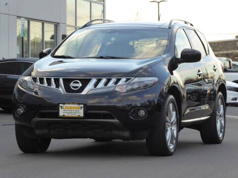 2009 Nissan Murano for sale at Loudoun Motor Cars in Chantilly VA