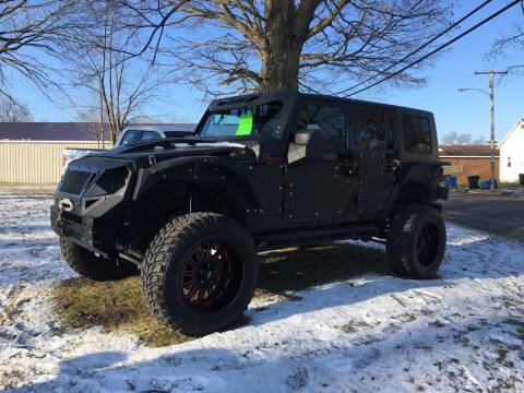 2008 Jeep Wrangler Unlimited for sale at Antique Motors in Plymouth IN