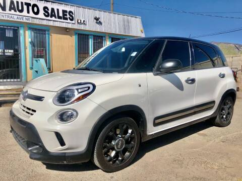 2015 FIAT 500L for sale at Top Gun Auto Sales, LLC in Albuquerque NM