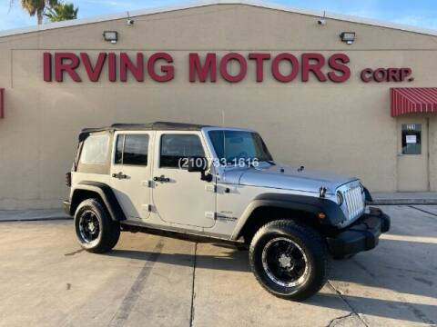 2011 Jeep Wrangler Unlimited for sale at Irving Motors Corp in San Antonio TX
