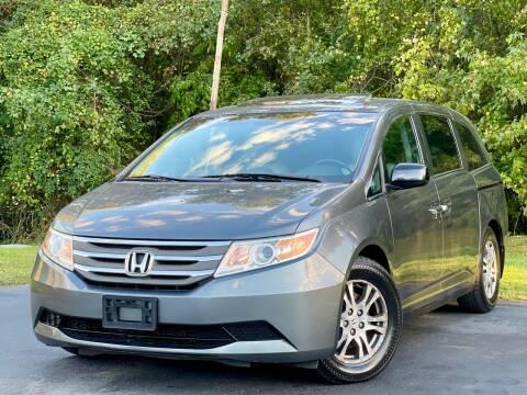 2012 Honda Odyssey for sale at Sebar Inc. in Greensboro NC