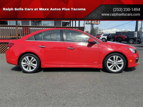 2015 Chevrolet Cruze for sale at Ralph Sells Cars at Maxx Autos Plus Tacoma in Tacoma WA