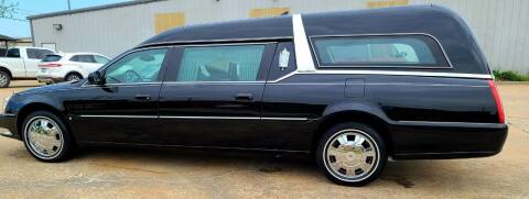 2009 Cadillac DTS Pro for sale at FRANSISCO & MONROE FUNERAL CAR SALES LLC in Tulsa OK