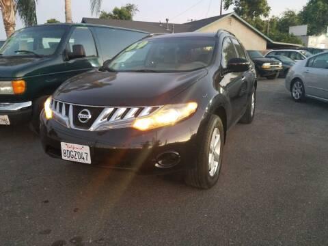 2009 Nissan Murano for sale at Golden Gate Auto Sales in Stockton CA