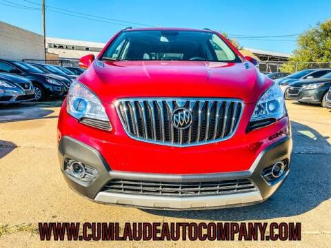 2015 Buick Encore for sale at MAGNA CUM LAUDE AUTO COMPANY in Lubbock TX