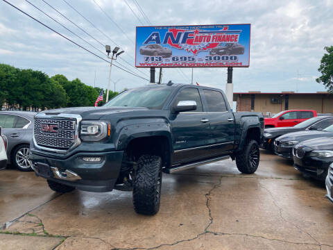 2017 GMC Sierra 1500 for sale at ANF AUTO FINANCE in Houston TX