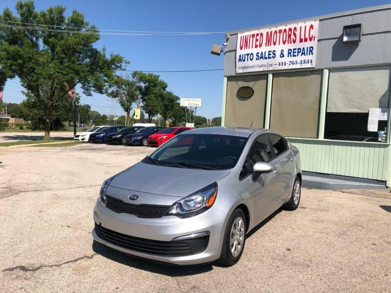 2017 Kia Rio for sale at United Motors LLC in Saint Francis WI