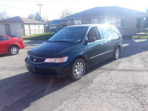 2000 Honda Odyssey for sale at Flag Motors in Columbus OH
