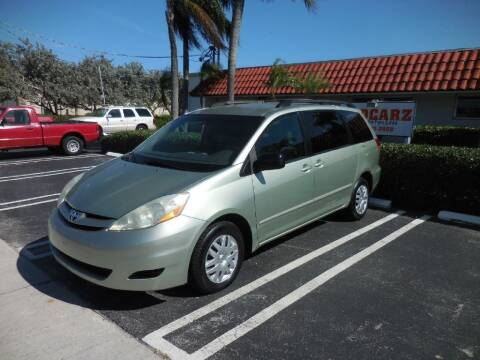 2006 Toyota Sienna for sale at Uzdcarz Inc. in Pompano Beach FL