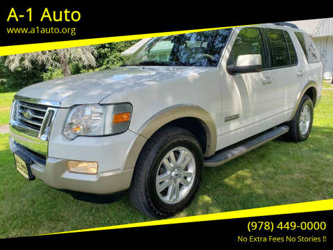 2008 Ford Explorer for sale at A-1 Auto in Pepperell MA