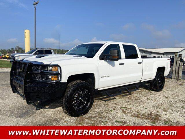 2019 Chevrolet Silverado 3500HD for sale at WHITEWATER MOTOR CO in Milan IN