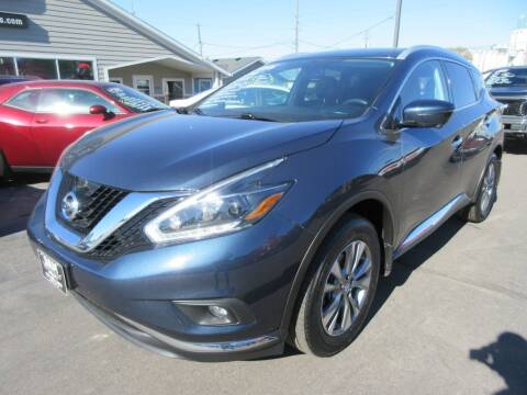 2018 Nissan Murano for sale at Dam Auto Sales in Sioux City IA