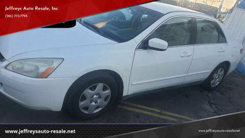 2005 Honda Accord for sale at Jeffreys Auto Resale, Inc in Clinton Township MI