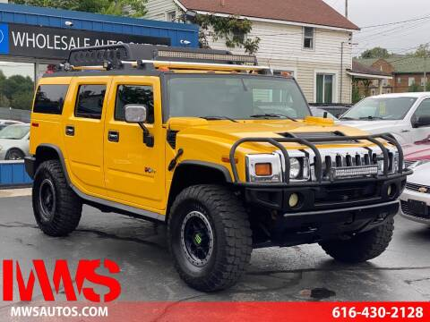 2005 HUMMER H2 for sale at MWS Wholesale  Auto Outlet in Grand Rapids MI