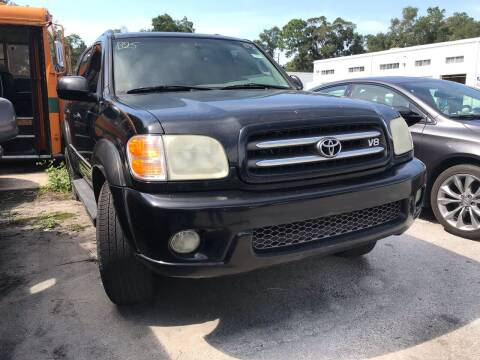 2003 Toyota Sequoia for sale at Popular Imports Auto Sales in Gainesville FL