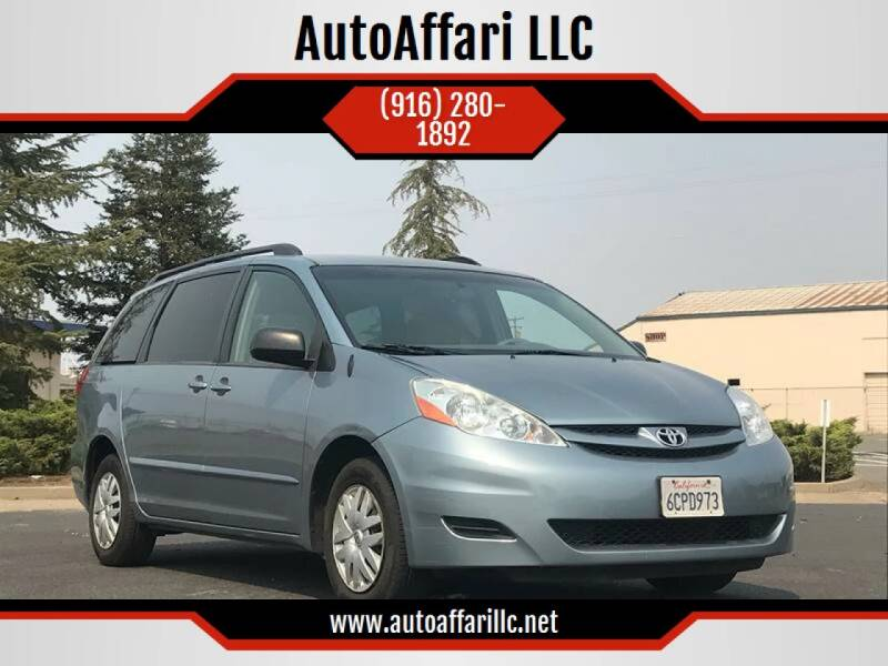 2008 Toyota Sienna for sale at AutoAffari LLC in Sacramento CA