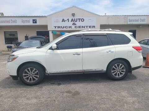 2013 Nissan Pathfinder for sale at A-1 AUTO AND TRUCK CENTER in Memphis TN