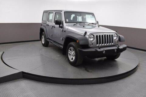 2017 Jeep Wrangler Unlimited for sale at Hickory Used Car Superstore in Hickory NC