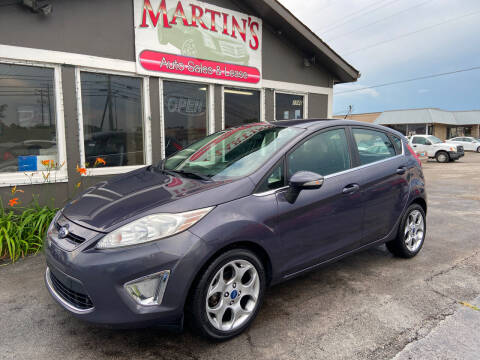 2012 Ford Fiesta for sale at Martins Auto Sales in Shelbyville KY