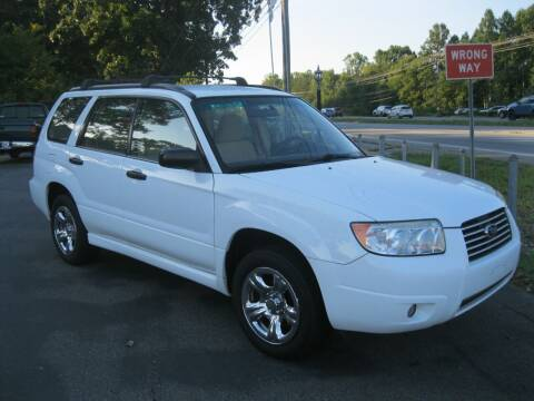 2007 Subaru Forester for sale at Catawba Valley Motors in Hickory NC
