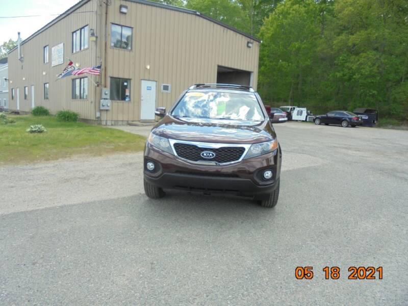 2013 Kia Sorento for sale at Exclusive Auto Sales & Service in Windham NH