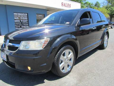 2009 Dodge Journey for sale at Trimax Auto Group in Norfolk VA