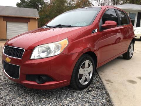 2009 Chevrolet Aveo for sale at Efficiency Auto Buyers in Milton GA